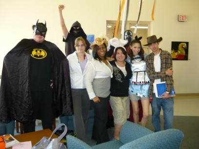 DSCC Students in Costume