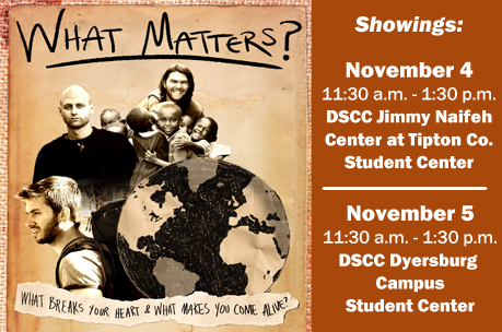What Matters Film Showing