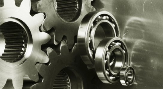 Photo of gears.