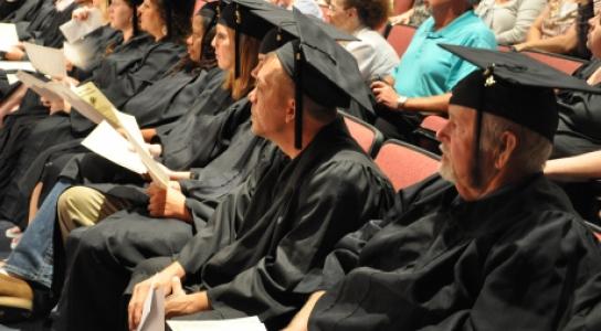 Adult education graduates