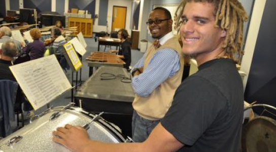 Music Students in Classroom