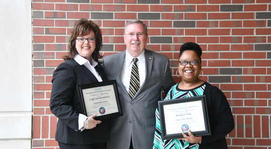 Leigh Ann Brandeberry, Danny Walden and Monica Chism