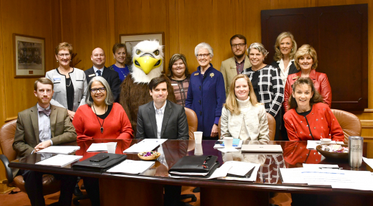 Tennessee Board of Regents Visits Dyersburg State