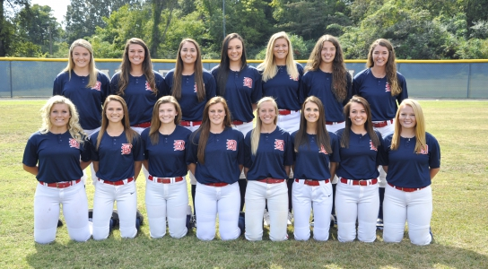 DSCC 2017-2018 Lady Eagles Softball