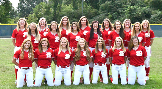 DSCC 2018-2019 Lady Eagles Softball