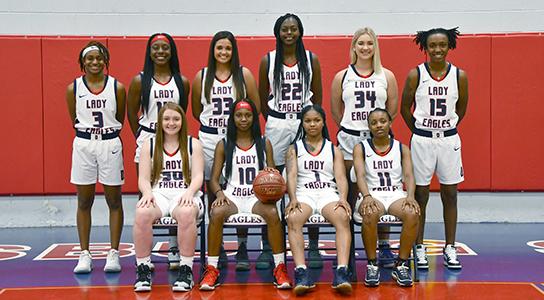 DSCC Women's Basketball Team 2019-2020