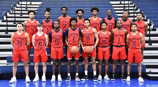 2020-2021 Men's Basketball Team