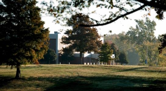 Image of campus landscape.