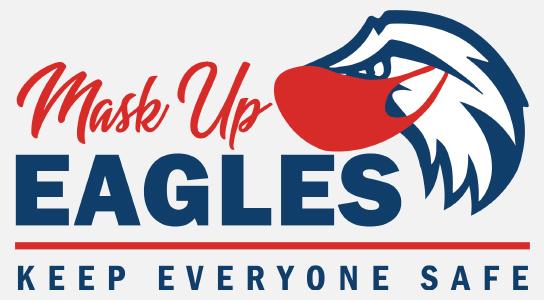Mask Up Eagles