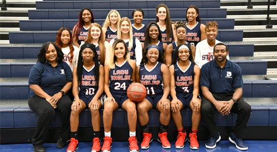 DSCC Women's Basketball Team 2018-2019