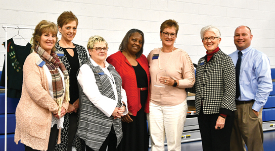 woman of distinction awarded to Dr. Charlene White