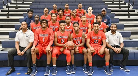 DSCC Men's Basketball Team 2018-2019