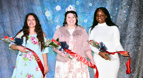 dyersburg state's homecoming court