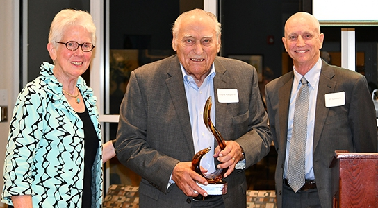 Wayne Karlgaard Receives Regents Award
