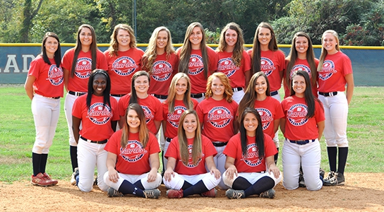 DSCC 2016-2017 Lady Eagles Softball