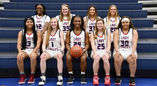 DSCC Women's Basketball Team 2020-2021